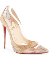 40f5c1828256 Lyst - Christian Louboutin Viva 85 Suede Pump in Blue