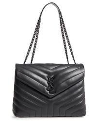 Saint Laurent - Medium Loulou Matelasse Leather Shoulder Bag - Lyst