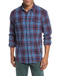 Tailor Vintage   Plaid Heavy Twill Shirt   Lyst