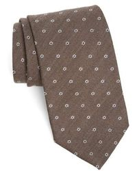 Strong Suit - Heather Floral Silk & Wool Tie - Lyst