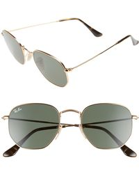 f0f04ac05c9 Lyst - Ray-Ban 0rb3547n 001 z2 48 Gold copper Flash Icons Sunglasses ...