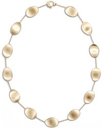 Marco Bicego - Lunaria 18k Gold Necklace - Lyst