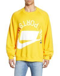 Nike - Sportswear Nsw French Terry Crew - Lyst