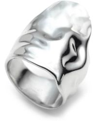 Alexis Bittar - Crumpled Asymmetric Statement Ring - Lyst