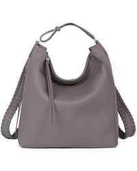 AllSaints - Small Kita Convertible Leather Backpack - Lyst