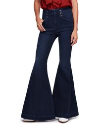 Free People - Maddox Flare Jeans - Lyst