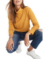 Madewell - Turtleneck Sweatshirt - Lyst