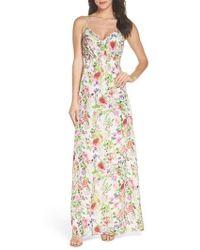 Felicity & Coco - Carolina Print Maxi Dress - Lyst