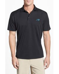Cutter & Buck | 'Carolina Panthers - Genre' Drytec Moisture Wicking Polo | Lyst