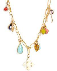 Elise M - Lala Charm Necklace - Lyst