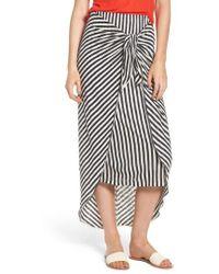 Splendid - X Margherita Isola Stripe Sarong Skirt - Lyst