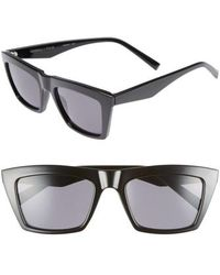 Kendall + Kylie - Kamilla 53mm Square Sunglasses - Lyst