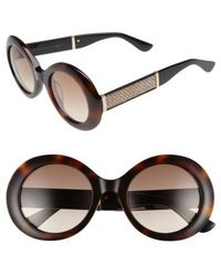 Jimmy Choo - Wendy 51mm Round Sunglasses - Lyst