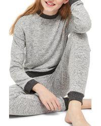 TOPSHOP - Soft Sweatshirt - Lyst