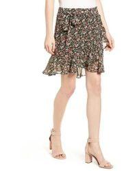 Rebecca Minkoff | Alice Faux Wrap Skirt | Lyst