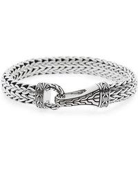 John Hardy - Classic Chain Silver Hook Bracelet - Lyst