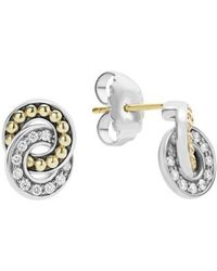 Lagos - Enso Diamond Stud Earrings - Lyst