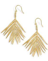 Gorjana - Palm Drop Earrings - Lyst