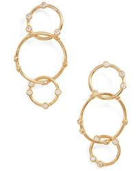 Melinda Maria | Link Drop Earrings | Lyst