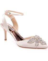 Badgley Mischka - Badgley Mischka Fana Crystal Embellished Pump - Lyst