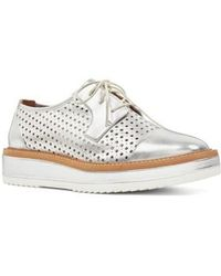 Nine West - Verwin Perforated Cap Toe Derby - Lyst