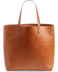 915d29979 Madewell Suede Mini Fringe Transport Tote - Lyst