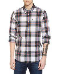 Barbour - Oscar Trim Fit Plaid Sport Shirt - Lyst