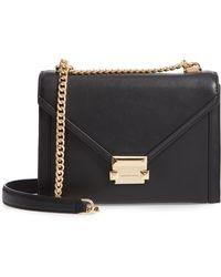 MICHAEL Michael Kors - Large Whitney Leather Shoulder Bag - Lyst