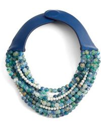 Fairchild Baldwin - Amelia Bella Beaded Collar Necklace - Lyst