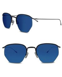 3a1ad7894e Smoke X Mirrors - Geo I 51mm Semi Rimless Sunglasses - Lyst