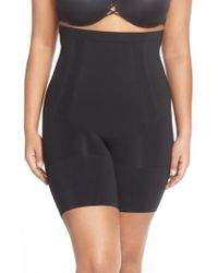 Spanx | Spanx Oncore High Waist Mid-thigh Shorts | Lyst