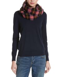 Burberry - Vintage Check Wool-blend Scarf - Lyst