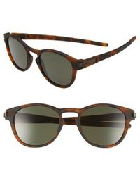 Oakley - 'latch(tm)' 53mm Retro Sunglasses - Lyst