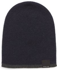 6bf8760873b Lyst - Canada Goose Boreal Merino Beanie in Blue for Men