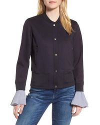Chelsea28 | Ruffle Sleeve Jacket | Lyst