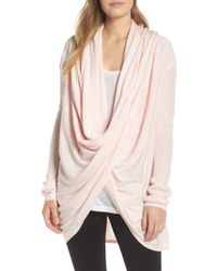 Nordstrom - Long Wrap Cardigan - Lyst