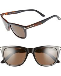 7376bfcadc5 Lyst - Tom Ford Men s Andrew Ft0500-52n-54 Brown Rectangle ...