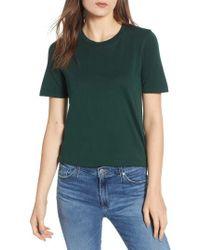 AG Jeans - Crewneck Tee - Lyst