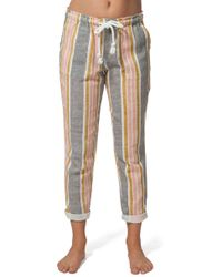 Rip Curl - Into The Sun Stripe Pants - Lyst