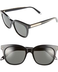 ea083d808872 Victoria Beckham - The Vb 52mm Retro Sunglasses - - Lyst