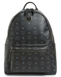 MCM - 'medium Stark - Visetos' Backpack - Lyst