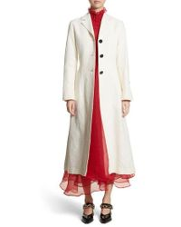 Beaufille - Rhodes Swirl Jacquard Trench Coat - Lyst