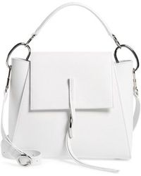 3.1 Phillip Lim - Leigh Top Handle Leather Satchel - Lyst