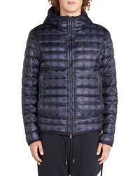 5ff429e8a Lyst - Moncler  chauvon  Quilted Down Jacket in Red for Men