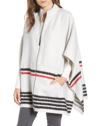 Treasure & Bond - Blanket Stripe Cape - Lyst