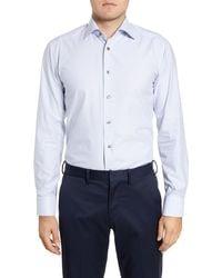 Eton of Sweden - Slim Fit Tattersall Dress Shirt - Lyst