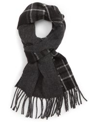 Polo Ralph Lauren - Reversible Stable Plaid Wool Blend Scarf - Lyst