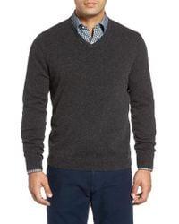 John W. Nordstrom | John W. Nordstrom Cashmere V-neck Sweater | Lyst