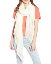 Treasure & Bond - Solid Ribbed Wrap Scarf - Lyst