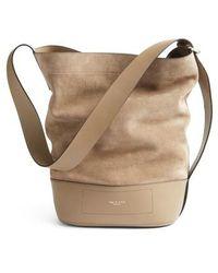 Rag & Bone | Rag And Bone Walker Sling Leather & Suede Bucket Bag | Lyst